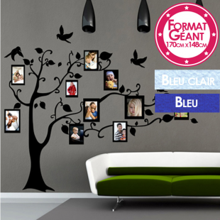 sticker mural format g ant mod le grand arbre photos. Black Bedroom Furniture Sets. Home Design Ideas