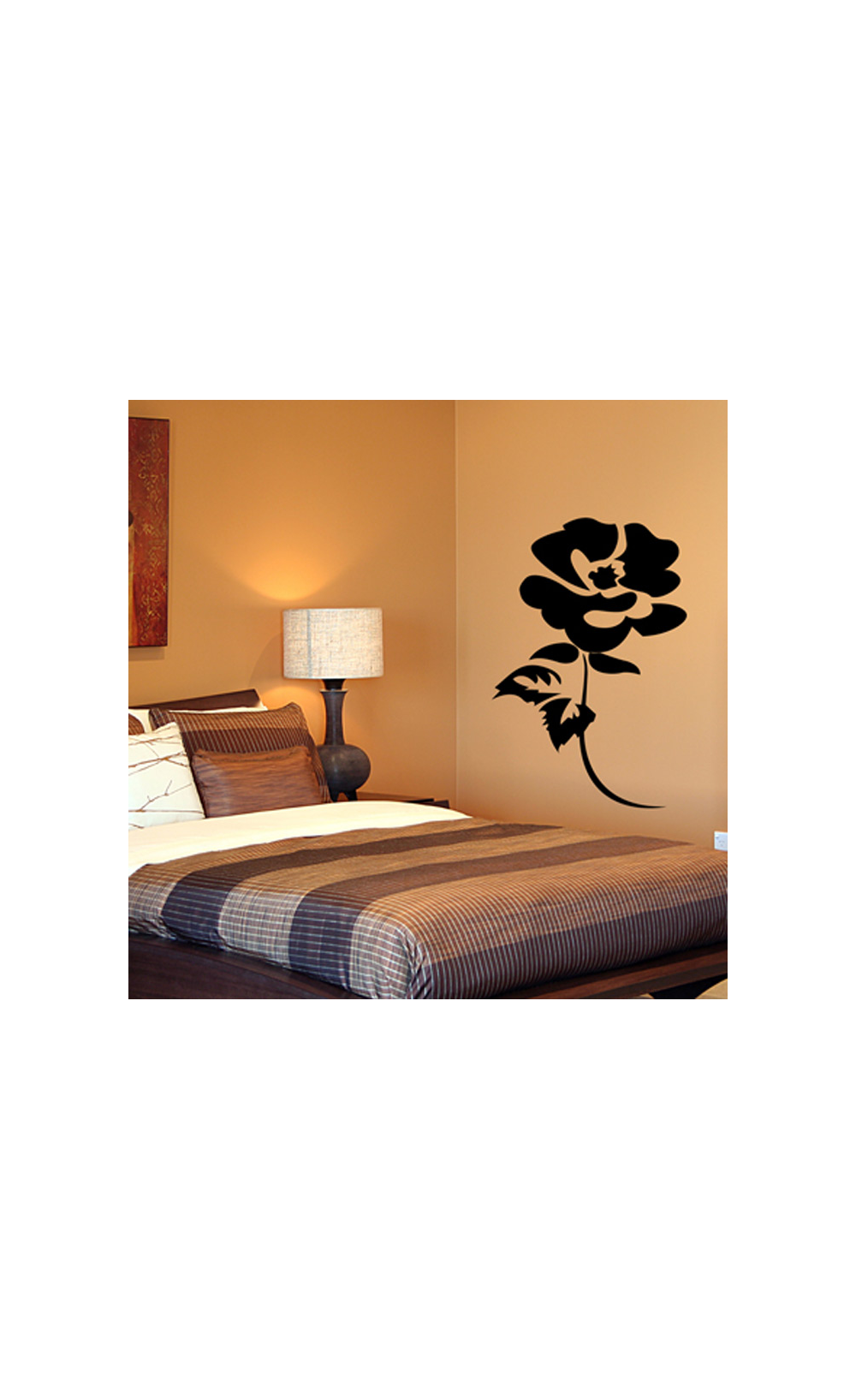 sticker mural pour d corer son int rieur petit prix mod le rose. Black Bedroom Furniture Sets. Home Design Ideas